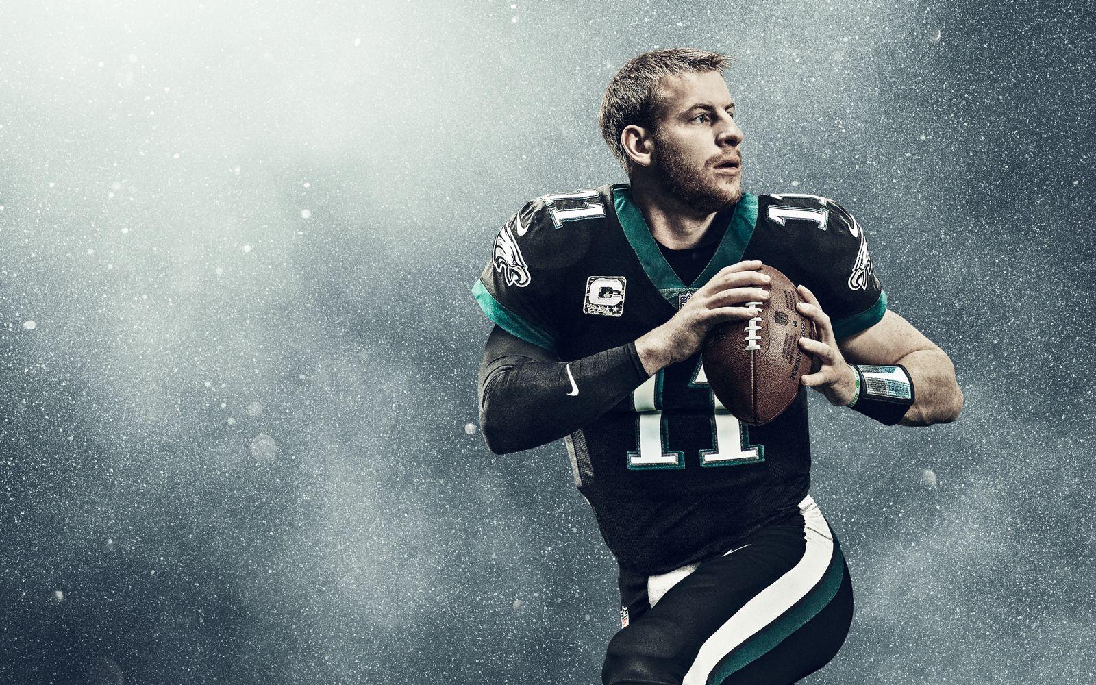 da41b19c47c Philadelphia Eagles quarterback Carson Wentz has fans thankful for football