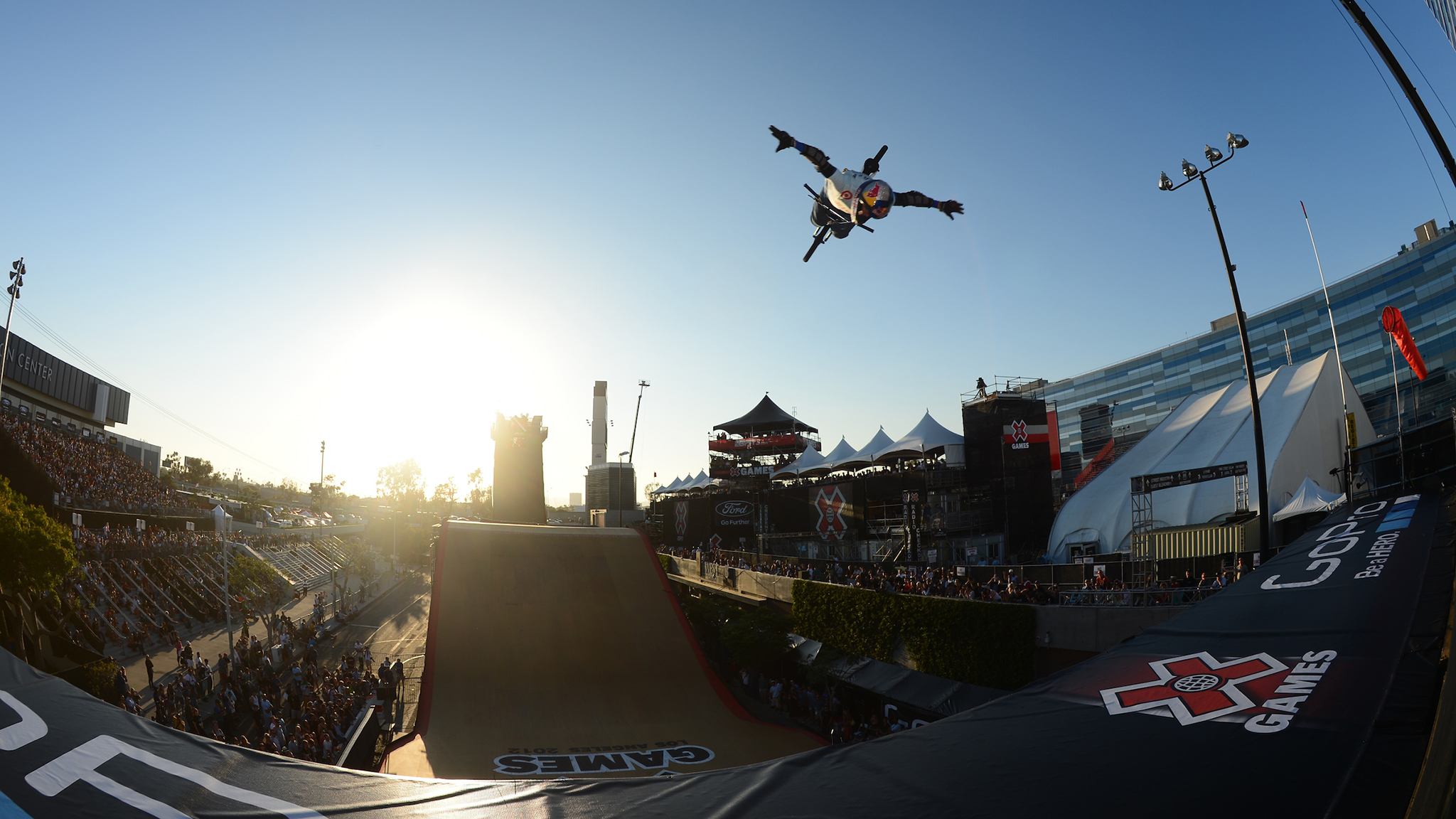 Kevin Robinson, seen here performing at X Games Los Angeles 2012, died Saturday of stroke. He was 45.
