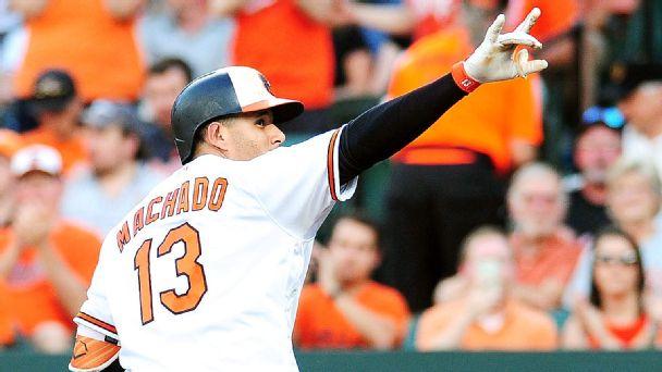 Manny Machado -- Baltimore Orioles