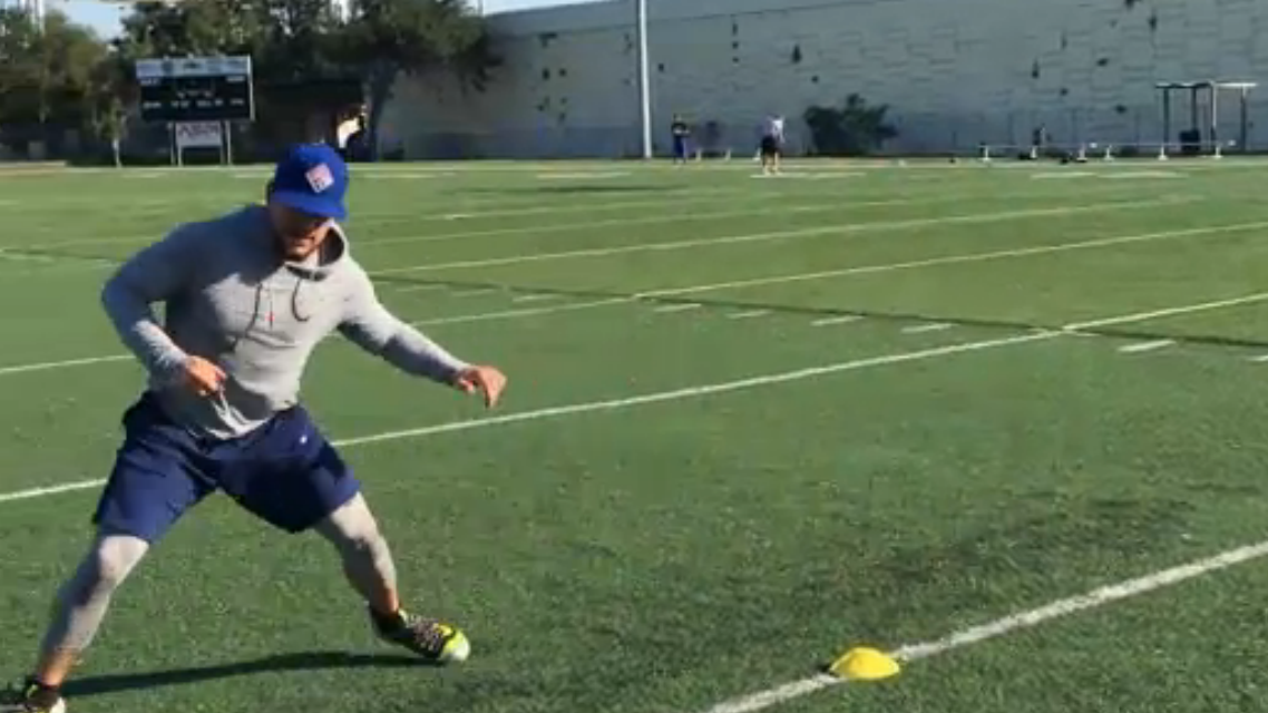 Inside Kyle Schwarber S New Workout Routine Abc7chicago Com