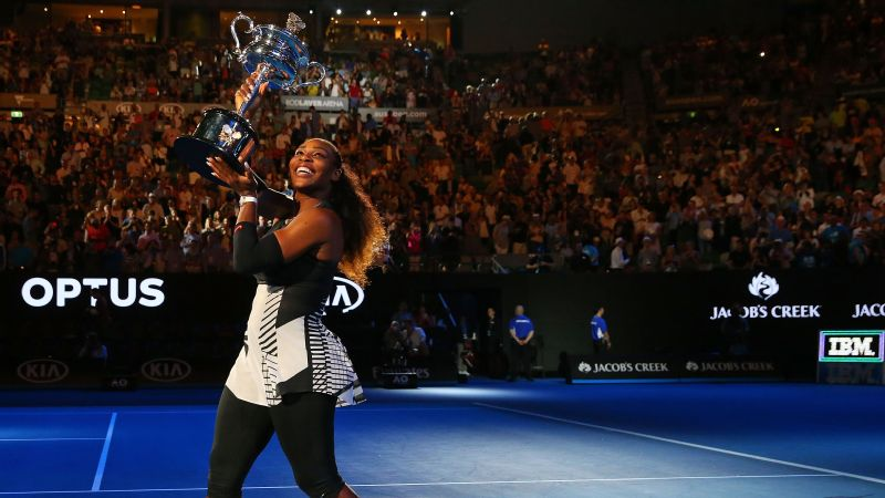 Will Serena Williams be taking home the Daphne Akhurst Trophy after the Aussie Open?