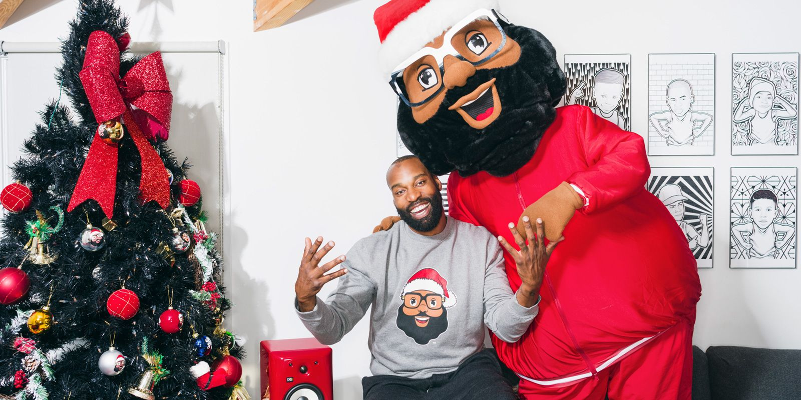 Baron Davis designs ugly NBA sweaters for the Warriors 8362800e9
