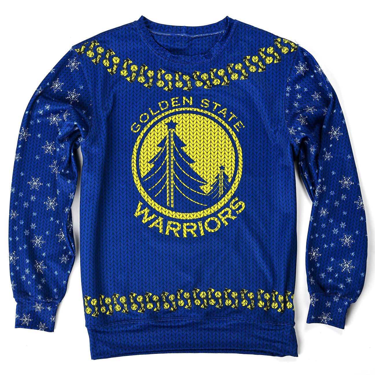 Warriors ugly sweater
