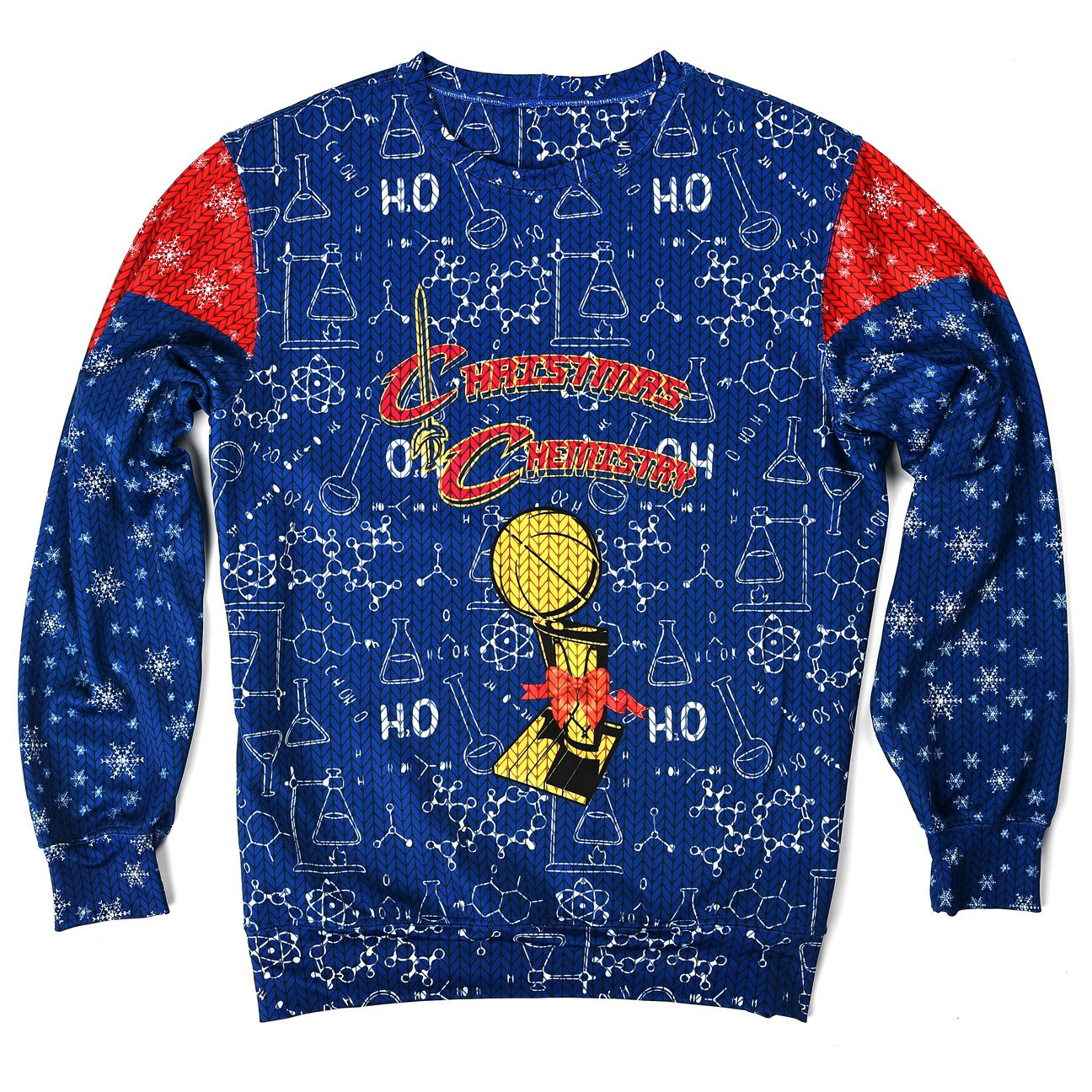 Cavaliers ugly sweater