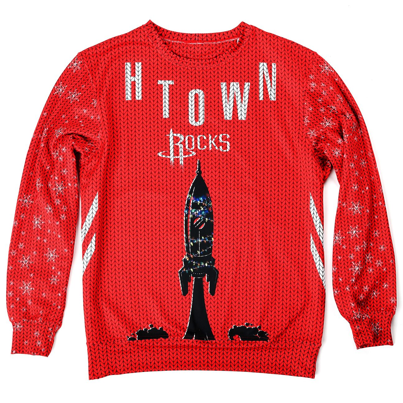 Rockets ugly sweater