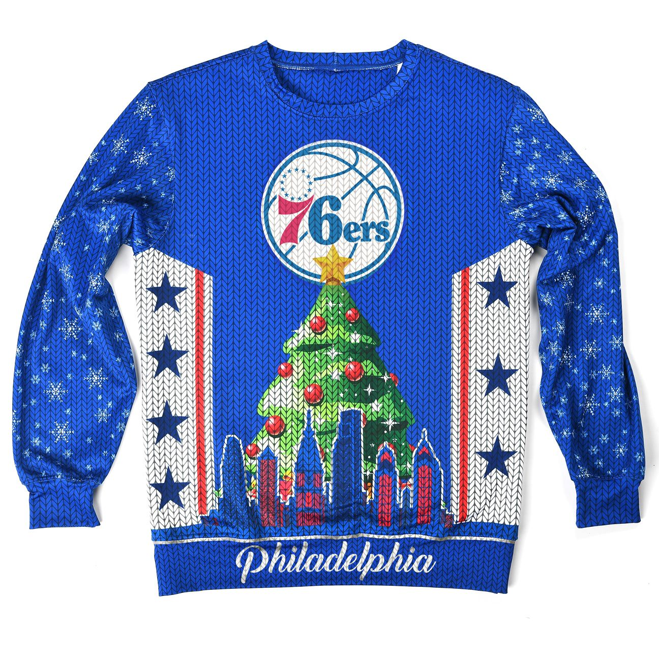 76ers ugly sweater