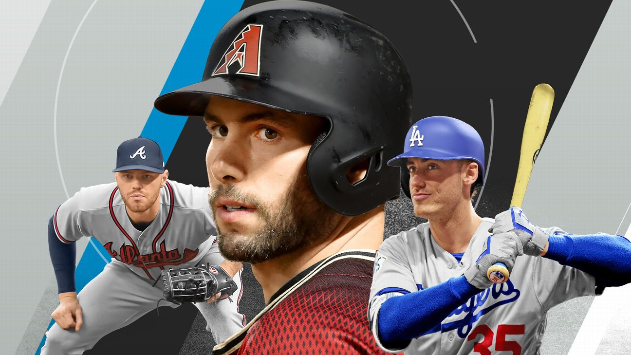 Paul Goldschmidt, Cody Bellinger, Freddie Freeman