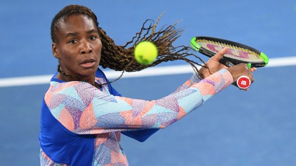 Venus crashes out of Aussie Open