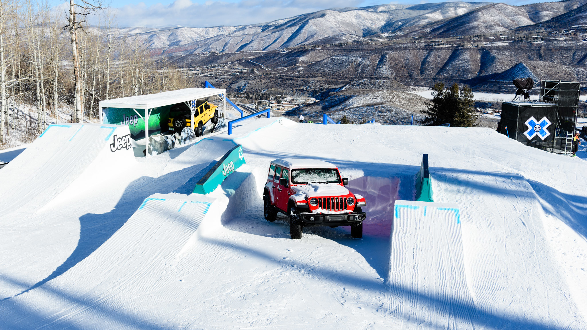 Slopestyle Feature 1