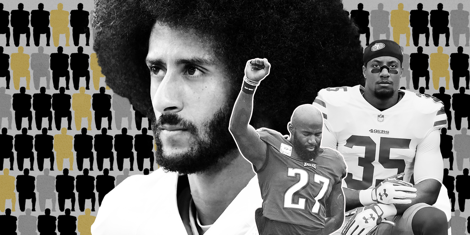 Colin kaepernicks movement endures but its supporters are more a protest divided the movement started by colin kaepernick m4hsunfo