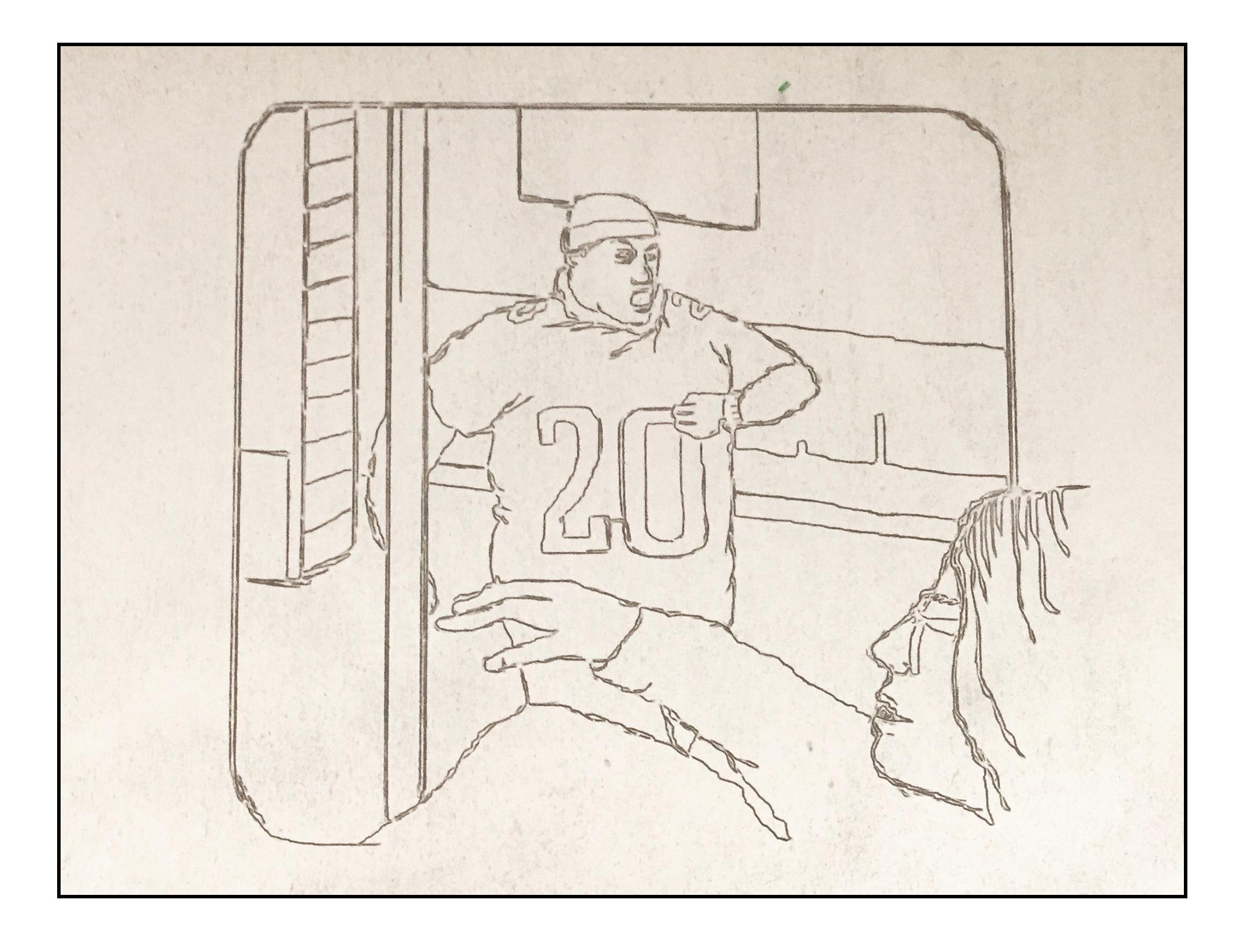 Etch A Sketch Super Bowl Lii Preview For Philadelphia Eagles New England Patriots Mina Kimes 2018 Nfl