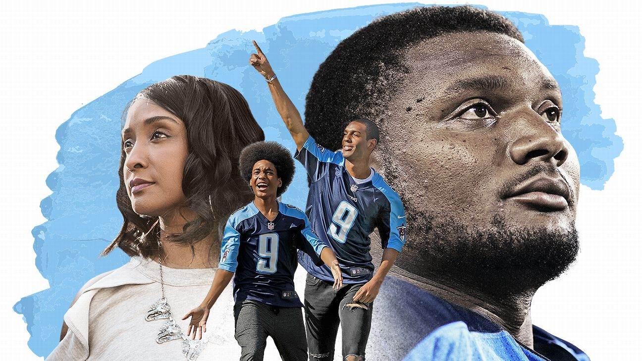d5fd5552b6c The family Tennessee Titans legend Steve McNair left behind