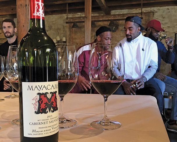 The NBA's Secret Wine Society