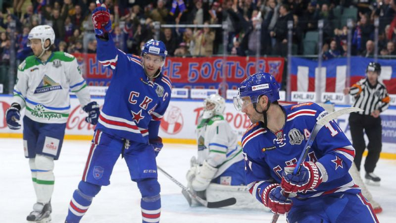The Olympic Athletes from Russia are the favorites at the 2018 Olympic Games in the men's hockey tournament, led by former NHL stars Pavel Datsyuk and Ilya Kovalchuk (now teammates in the KHL).