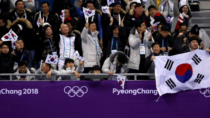 One of the more difficult tickets to get here in Pyeongchang: short-track speedskating events at Gangneung Ice Arena.