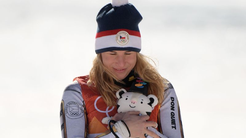 Before Saturday, Czech Republic's Ester Ledecka's best result in super-G was 19th -- then she won gold in the Olympics.