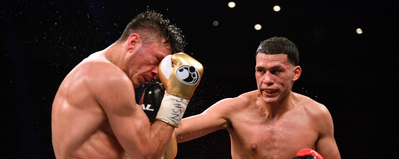 David Benavidez vs. Ronald Gavril