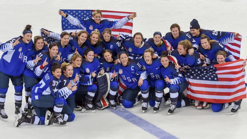 The U.S. women's hockey team won gold at the 2018 Olympics, less than a year after threatening to boycott the 2017 world championships due to wage and other inequalities.