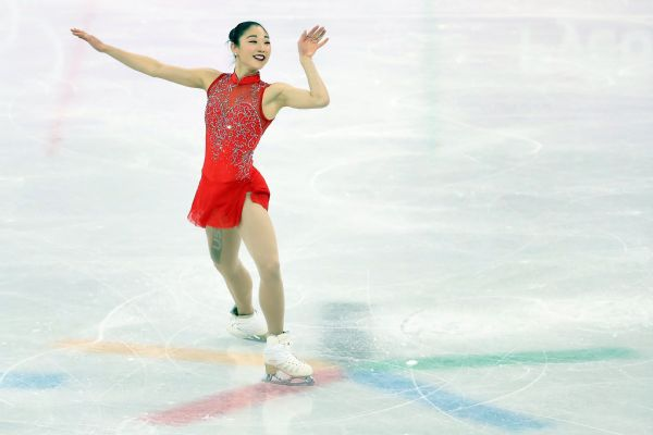 American Mirai Nagasu never got elevation for the triple axel and ended up 10th. She was one spot in front of Karen Chen, the 2017 U.S. champion. Bradie Tennell, this year's winner at nationals, was ninth.