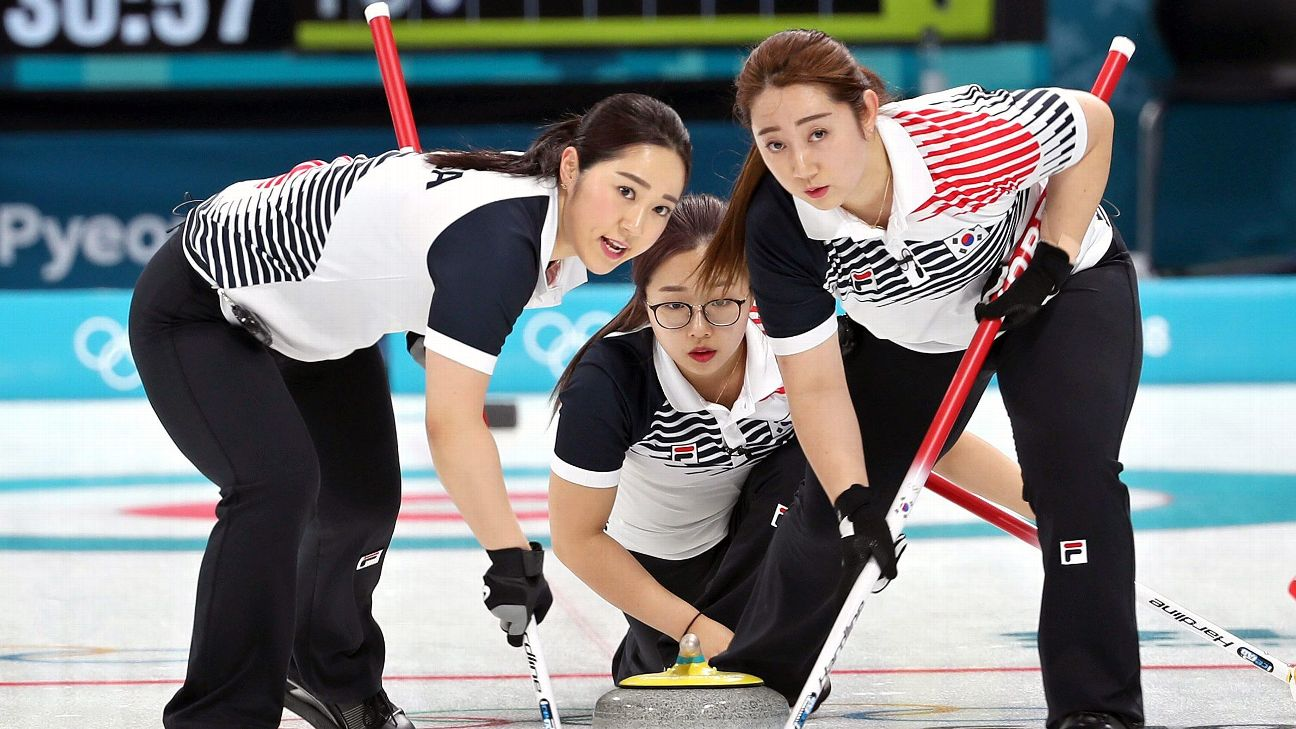 South Korea women's curling team