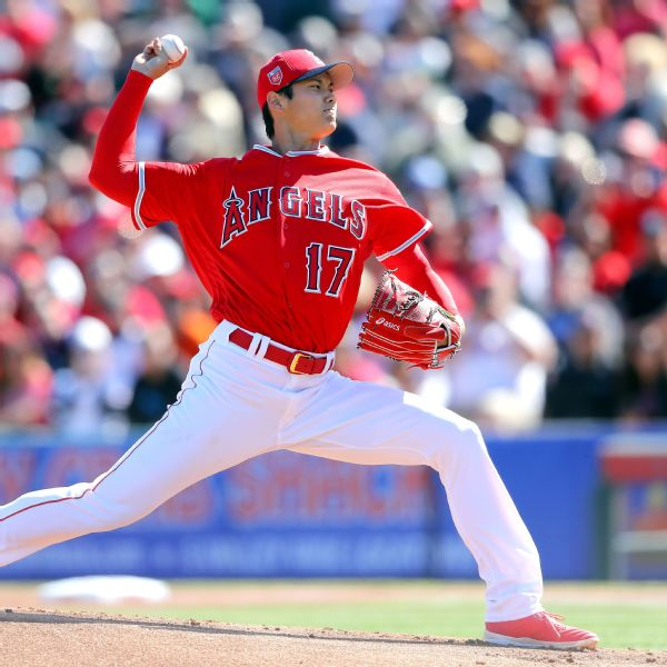 Shohei Ohtani Stats, News, Pictures, Bio, Videos