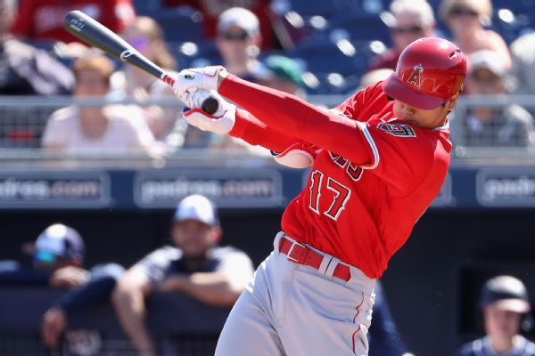 Shohei Ohtani hits home run in third straight game for Angels