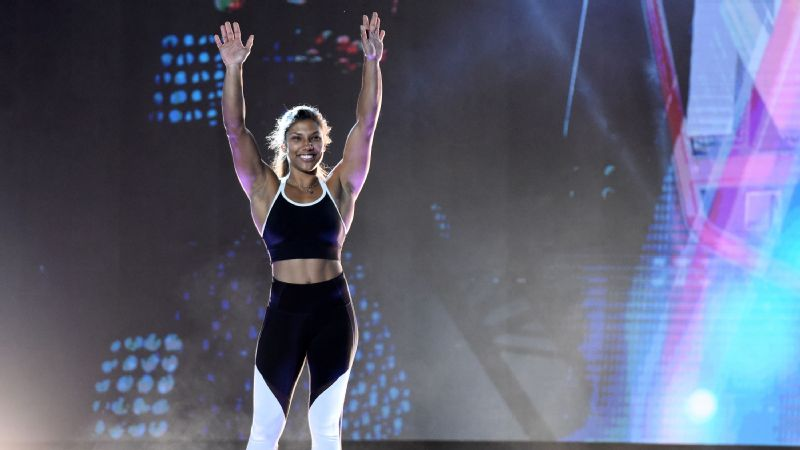 Meagan Martin is one of 108 ninjas competing in the new ANW spin-off.