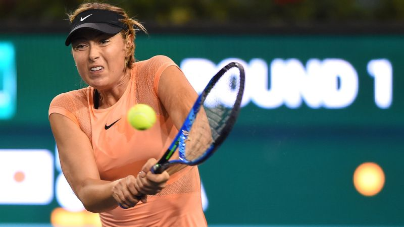 Osaka ousts former No. 1 Sharapova at Indian Wells
