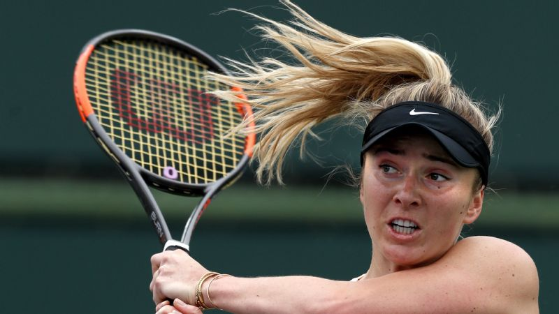 Elina Svitolina's immediate goal is to start figuring out how to fare better at Grand Slam events.