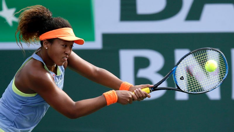 Naomi Osaka's personality is as bright as her future in tennis.