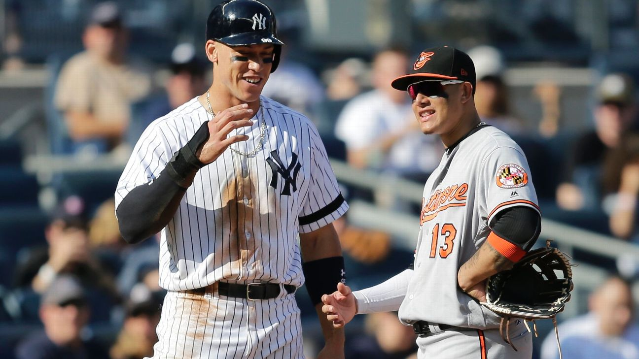 Aaron Judge and Manny Machado