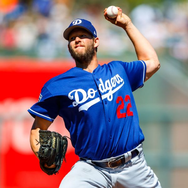 Dodgers' Clayton Kershaw caps unscored upon spring training