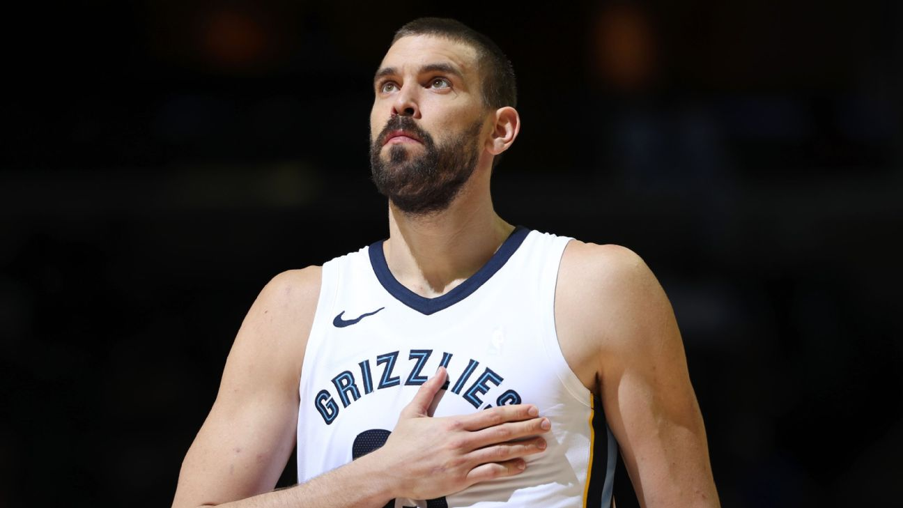 Marc Gasol Stats, News, Videos, Highlights, Pictures, Bio