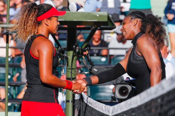 Serena Williams Naomi Osaka