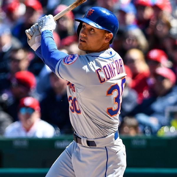 Michael Conforto Stats, News, Pictures, Bio, Videos