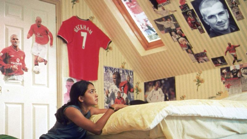 In Bend It Like Beckham, the lead character Jess (Parminder K. Nagra) fights cultural and familial norms just to have the chance to play soccer.