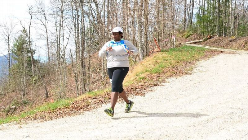 Mirna Valerio will run her tenth marathon on Monday as part of a group of teachers running the Boston Marathon.