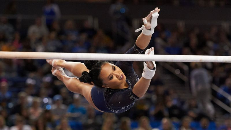 Christine Peng-Peng Lee was granted a sixth season by the NCAA and has made the most of it, with five perfect 10 scores and the Pac-12 title on beam.