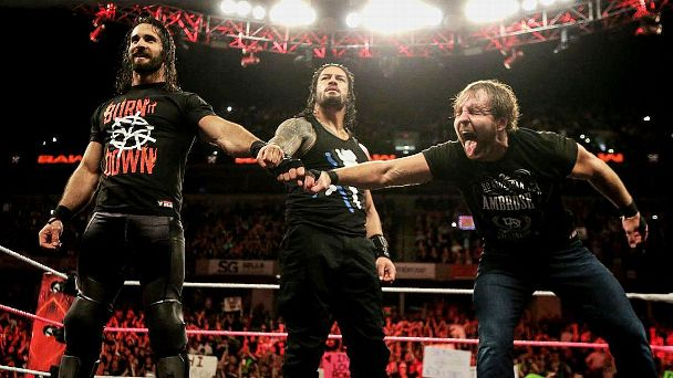 The Shield's reunion turned out to be a disaster, and while there's value in bringing them together in some way once Dean Ambrose returns, a true breakup and a triple threat match would be a WrestleMania main event-caliber match.