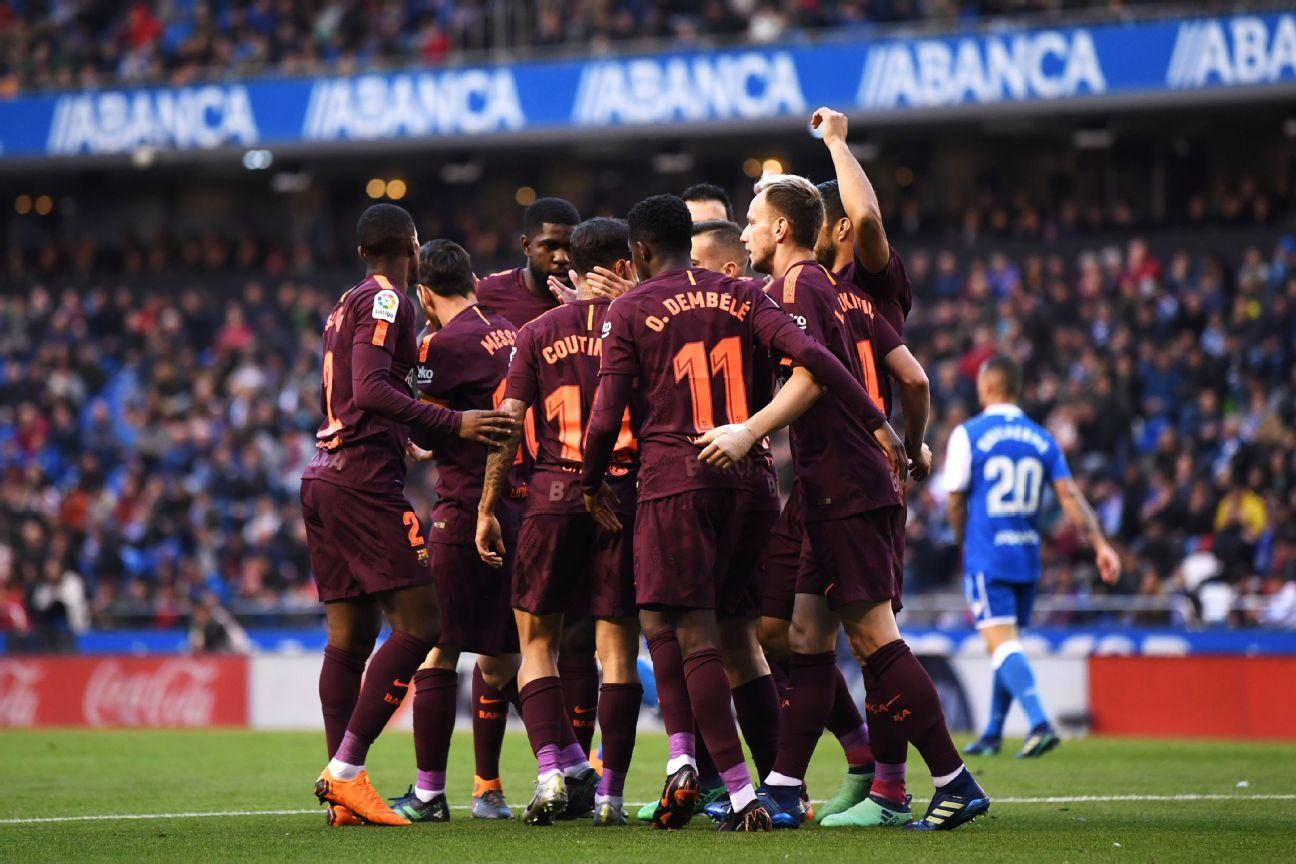 Les notes de l'effectif du Barça sur la saison