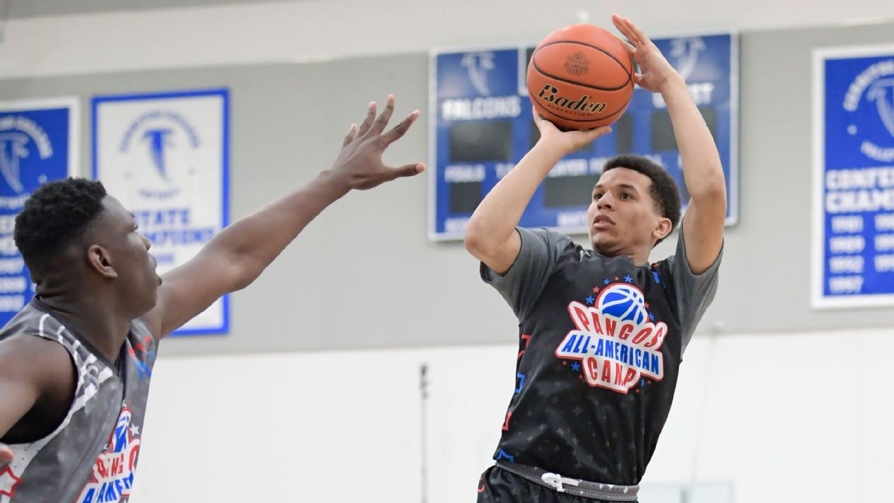 Espn the worldwide leader in sports espn cole anthony is becoming the star of the 2019 class fandeluxe Choice Image