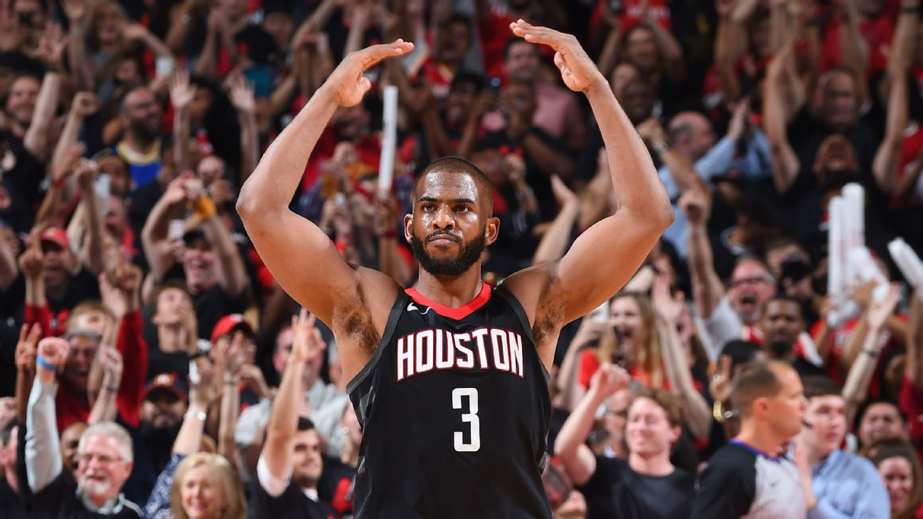 Rockets finish off Jazz, clinch Chris Paul's first Conference Finals trip