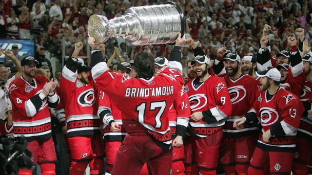 Rod Brind'Amour won the Cup with Carolina, and his game has gained new appreciation in the years since his retirement.