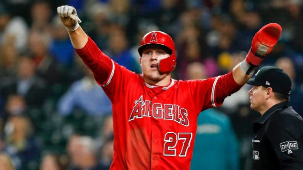 Mike Trout is on pace for the greatest season in MLB history