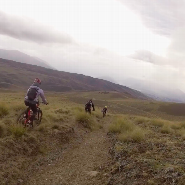 Heli-biking tours aren't widely available in the U.S. like they are in New Zealand.