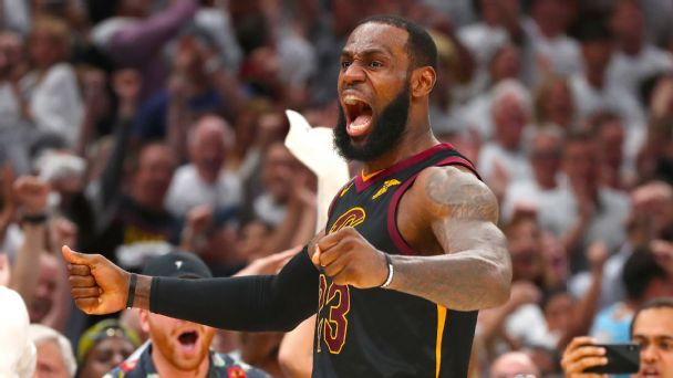 LeBron James' immediate reaction after Game 7 win over Celtics