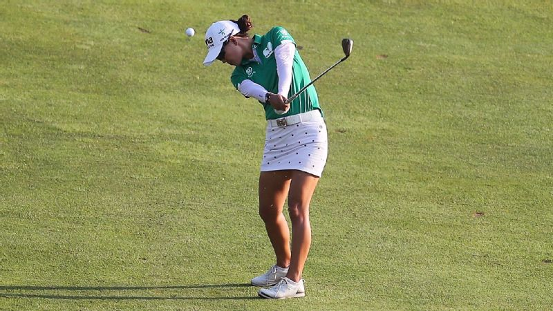 Minjee Lee, who turns 22 on Sunday, will try to celebrate her birthday with her first victory of the year.