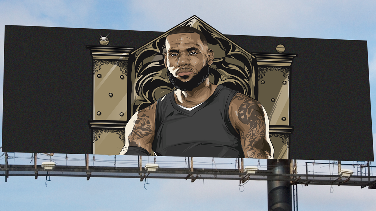04597f6c30fe Billboard top 30 - How every team can pitch LeBron James in free agency -  NBA