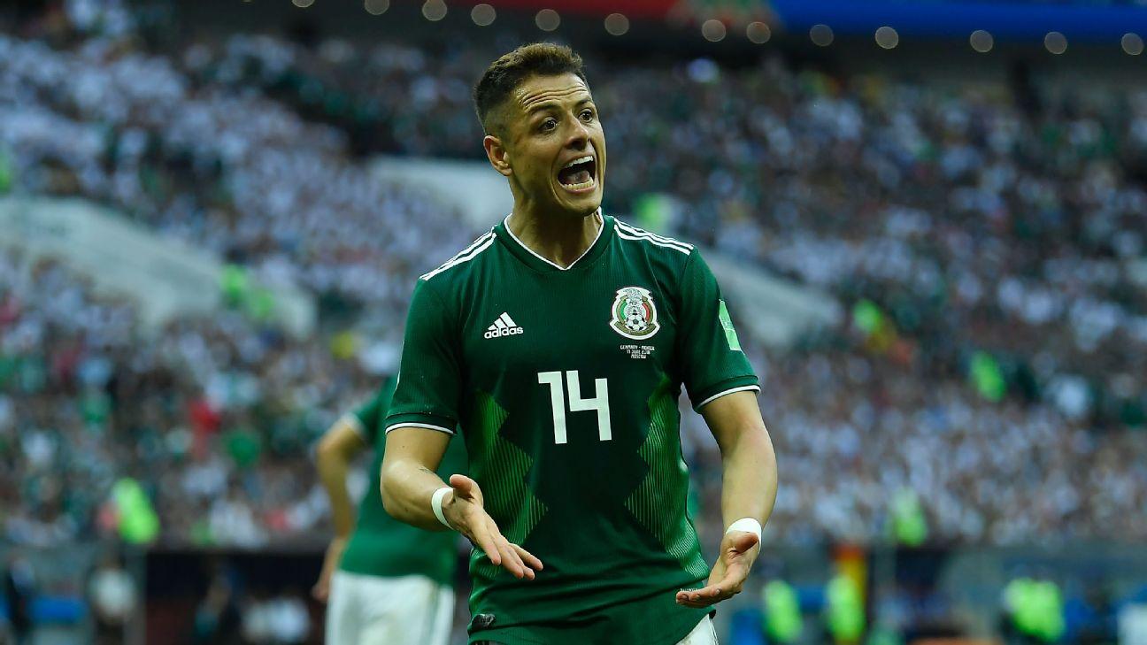 Chicharito Hernández México vs. Alemania