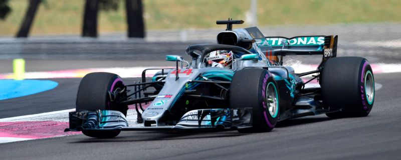 Lewis Hamilton claimed a comfortable win in France.